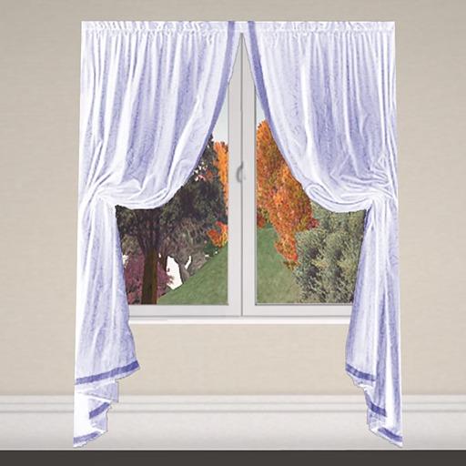 Curtain 1 white