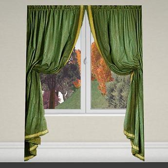 Curtain 1 green