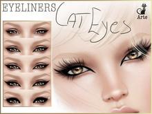 Arte - Eyeliner - Cat eyes - 5 styles + shape