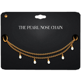 Amala - The Pearl Nose Chain - Gold