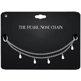 Amala - The Pearl Nose Chain - Silver