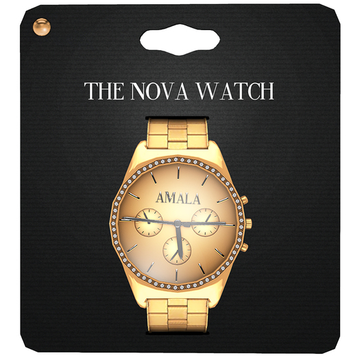 Amala - The Nova Watch - Gold