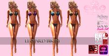 {B}FATPACK LEOPARD BIKINI - OMEGA - BOXED [ADD ME TO WEAR]