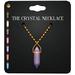 Amala - The Crystal Necklace - Gold