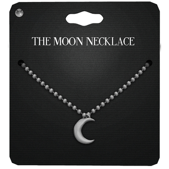 Amala - The Moon Necklace - Silver