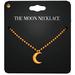 Amala - The Moon Necklace - Gold