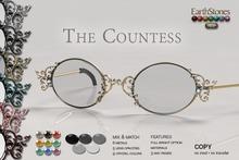EarthStones Eyeglasses - The Countess (mesh)