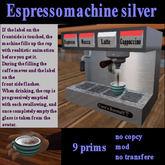 Espressomachine silver v1.2 Discount!