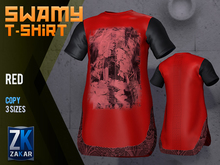 Swamy T-Shirt Red - ZK
