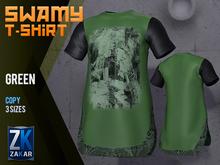 Swamy T-Shirt Green - ZK