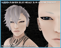 +AH+ BJD Head 3&4 Brow Short