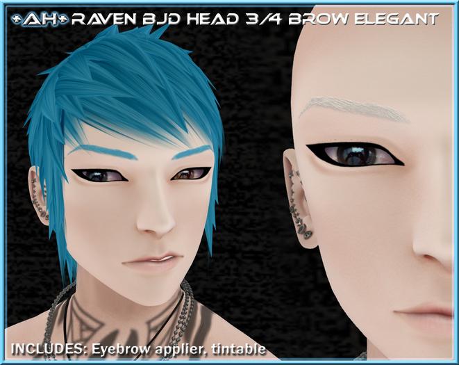 +AH+ BJD Head 3&4 Brow Elegant