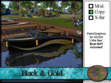 >^OeC^< AD25H Custom Paint Applier - Black & Gold
