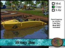 >^OeC^< AD25H Custom Paint Applier - Honey Bee