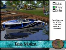 >^OeC^< AD25H Custom Paint Applier - Blue Motion