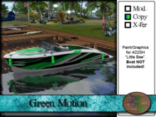 >^OeC^< AD25H Custom Paint Applier - Green Motion