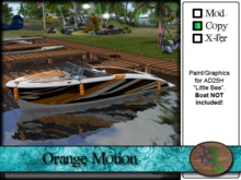 >^OeC^< AD25H Custom Paint Applier - Orange Motion