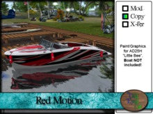 >^OeC^< AD25H Custom Paint Applier - Red Motion