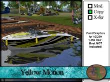 >^OeC^< AD25H Custom Paint Applier - Yellow Motion