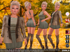 Sweet Temptations :: Cover Girl Outfit (Mesh Body Compatible) + Overknee Boots for Maitreya, Slink and #TMP