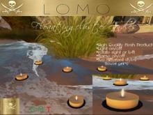 [ IBAN ] MESH floating candles light flame set #1