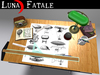 """Couples Animated Drafting Table """"Steampunk"""" Edition"""
