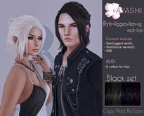 [^.^Ayashi^.^] Ryo hair-Black set