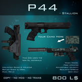 [BW] P44 Stallion - Dual Future Revolvers