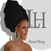 L&H :: Head wrap  :: Black Knit