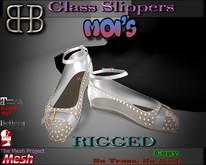 !!BHB!!  MOI'S FLATS GLASS SLIPPERS(fall 2015) (slink, maitreya, belleza, tmp, n-core, TMP))