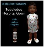 Toddleedoo Hospital Gown