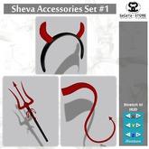 SaCaYa - Sheva Accessories Set #1