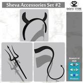 SaCaYa - Sheva Accessories Set #2