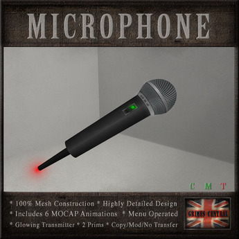 Hand Held Microphone (6 MOCAP Animations)