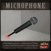 Hand Held Microphone (6 MOCAP Animations)