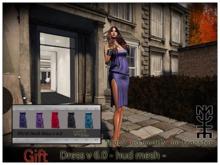Dress hud mesh v 6.0  Mute Arte virtual