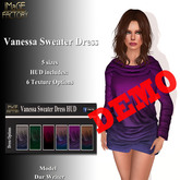 IMaGE Factory Vanessa Sweater Dress Demo