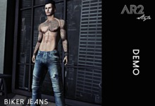 [AR2 Style] Biker Jeans DEMO