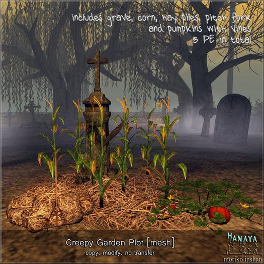 -Hanaya- Creepy Garden Plot [mesh]