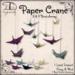[DDD] Paper Cranes
