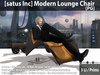 [satus Inc] Modern Lounge Chair [PG] ~ Only 3 Prims