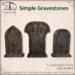 [DDD] Simple Gravestones
