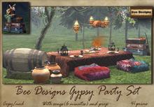 .:Bee designs:. Gypsy Party set - Box
