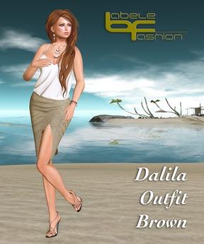Babele Fashion :: Dalila Outfit Brown