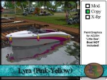 ">^OeC^< AD25H ""Lyra (Pink-Yellow)"" Custom Paint"