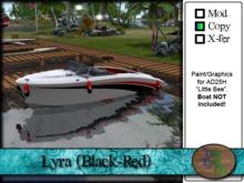 """>^OeC^< AD25H """"Lyra (Black-Red)"""" Custom Paint"""