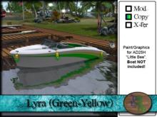 ">^OeC^< AD25H ""Lyra (Green-Yellow)"" Custom Paint"