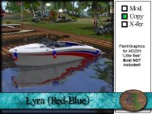">^OeC^< AD25H ""Lyra (Red-Blue)"" Custom Paint"