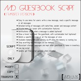 MD Guestbook Script (Transfer Version)