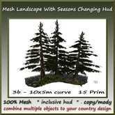 3b Mesh Garden/Landsc. Saisons Set 10x5m curve
